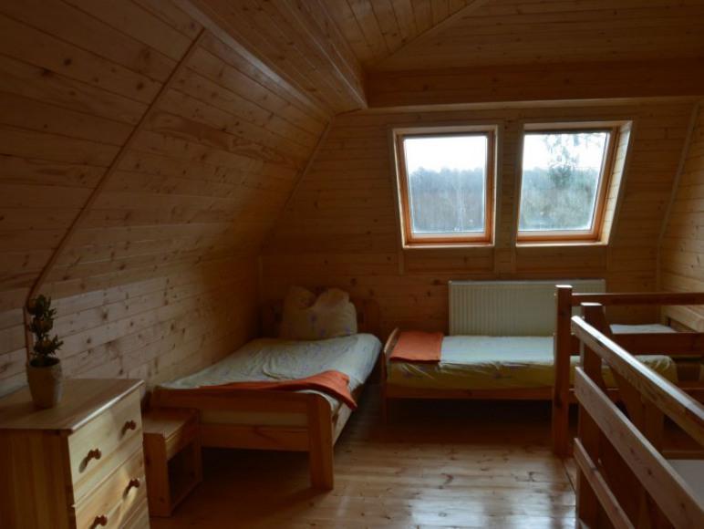 Sypialnia w apartamencie typu B
