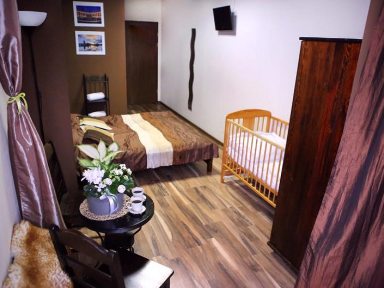 Pokój 2-osobowy typu double z łazienką z dostawką dla dziecka (opcjonalnie)