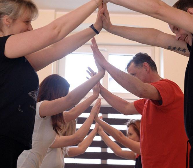 Terapia grupowa - praca z ciałem