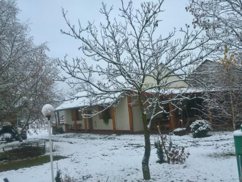 Zimą jest u nas pięknie.