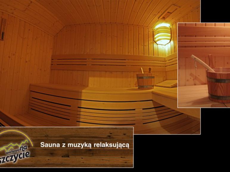 Apartament na Szczycie - Sauna