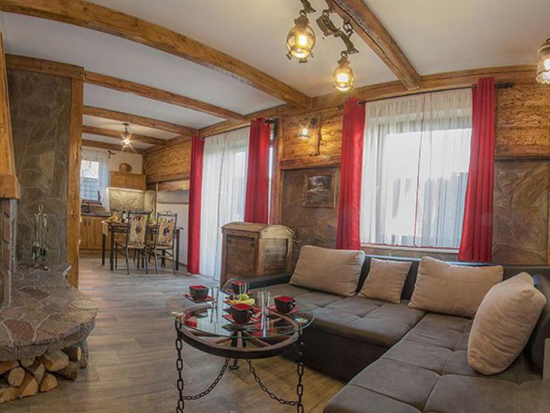 Apartament Jaworczański Raj pod Wysoką Salon
