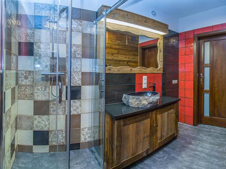 Apartament Jaworczański Raj pod Wysoką Łazienka z sauną