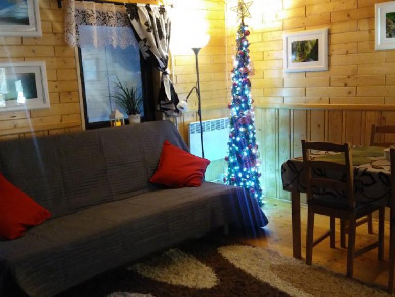 salon w Boże Narodzenie