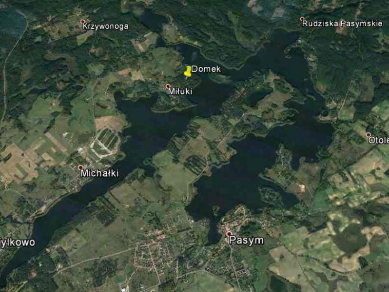 Pozycja domku na mapie