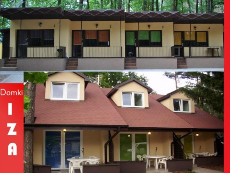 Posiadamy domki 3 pokojowe lub 2 pokojowe.