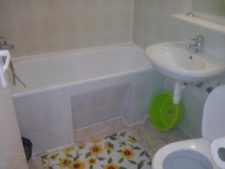 Łazienka do pokoju z kominkiem