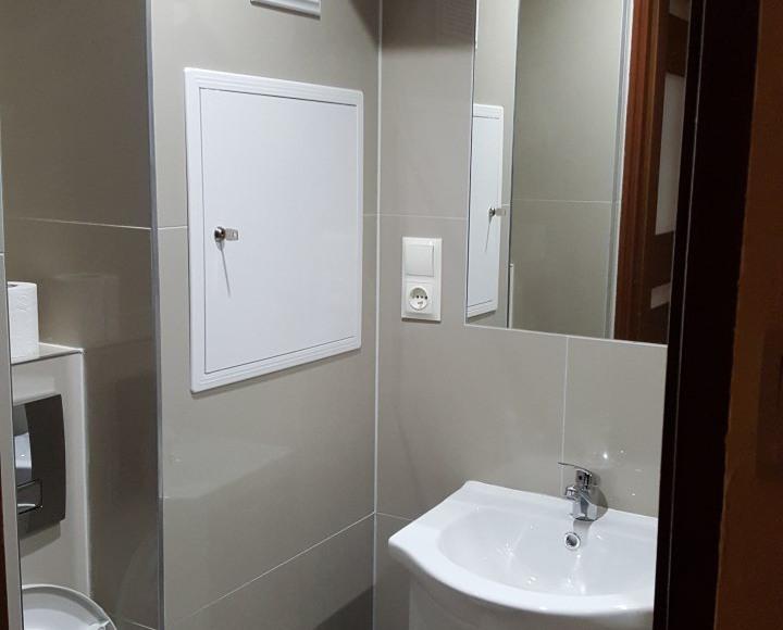 łazienka z prysznicem 2 kwatera pracownicza Stalowa Wola