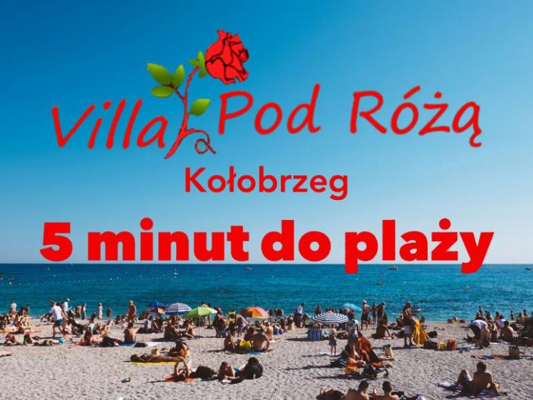 Villa Pod Różą 5 min do plaży