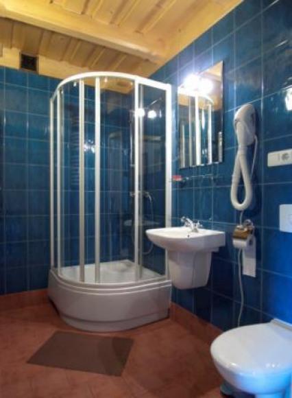 Willa Orla - łazienka w każdym pokoju