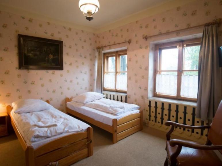 Willa Orla - przykładowy pokój 2 osobowy twin / double