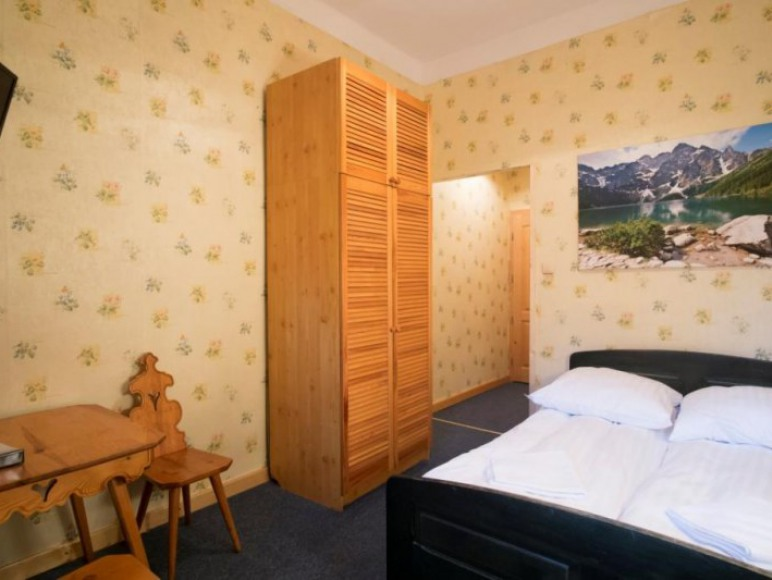 Willa Orla - przykładowy pokój 2 osobowy double
