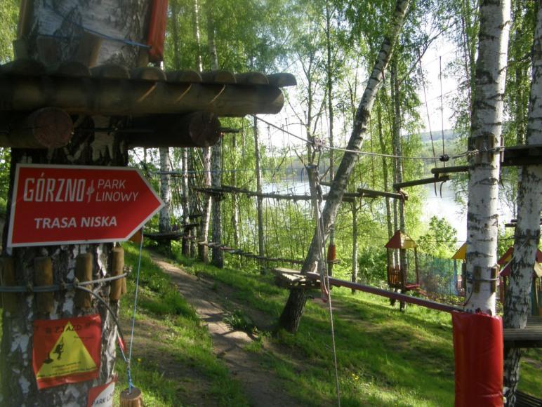 park linowy w Gorznie