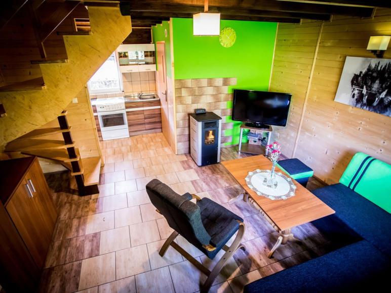 Salon - domek De Lux