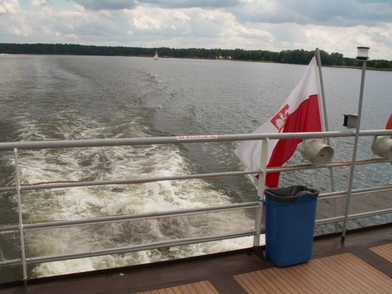 przejażdżka statkiem w Augustowie