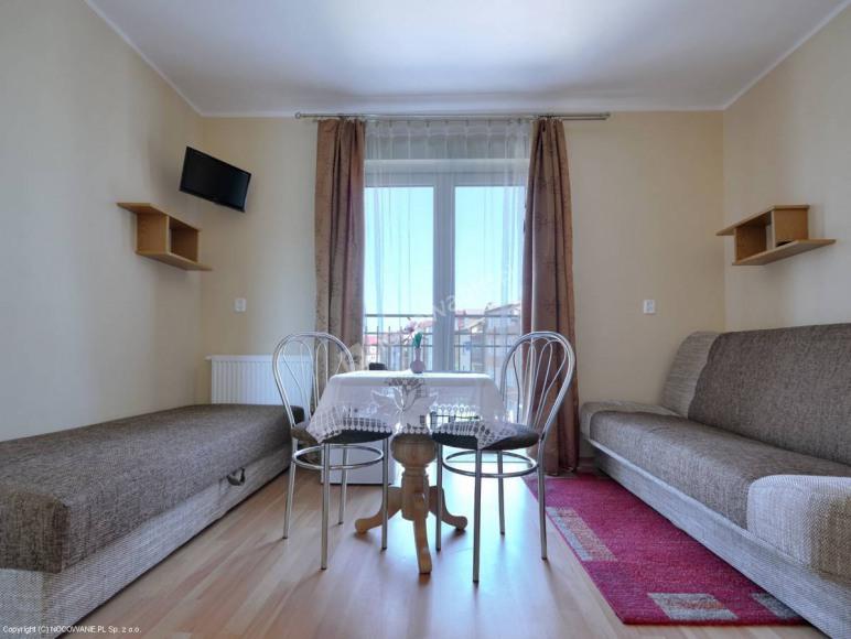 pokój 2-os. mały balkon