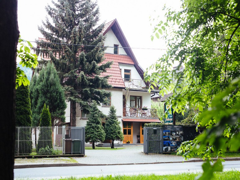 ul. Parkowa 1.e, Myślenice - Zarabie