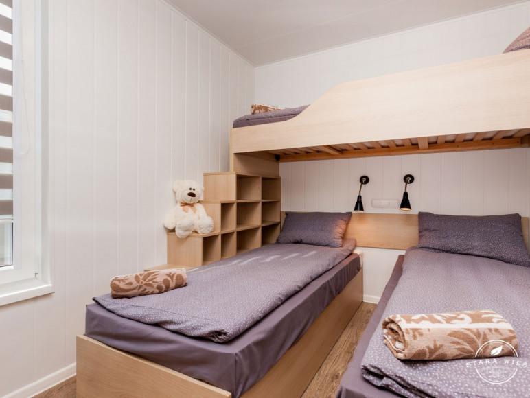 Wnętrze domku mobilnego - Resort Stara Wieś