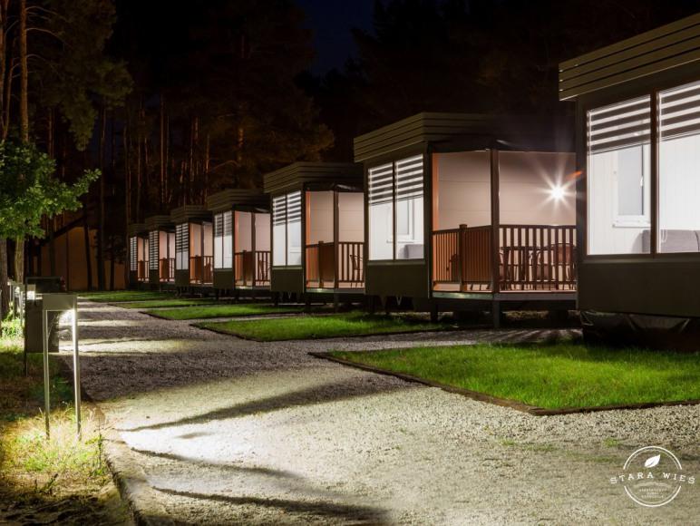 Domki mobilne - Resort Stara Wieś