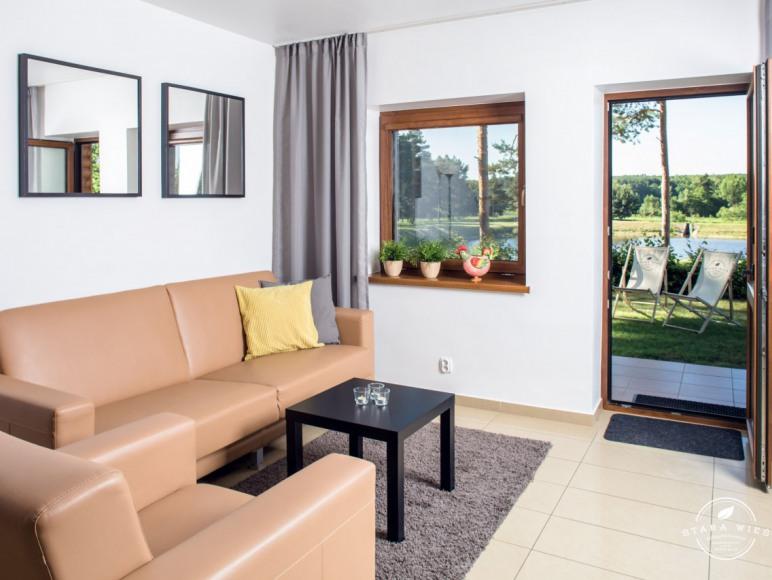 Apartament całoroczny z widokiem na staw - Resort Stara Wieś