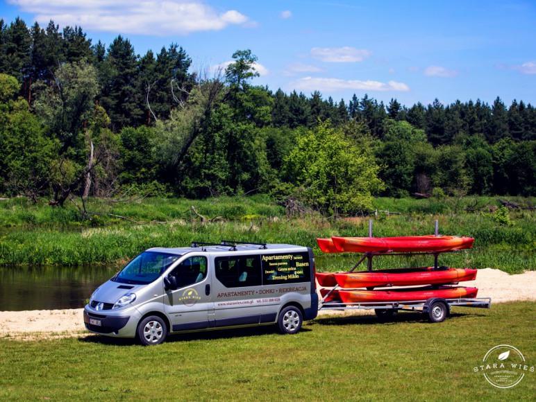 Spływy kajakowe po Warcie - Resort Stara Wieś