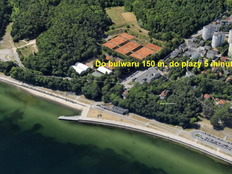 położenie, widok od strony Bałtyku