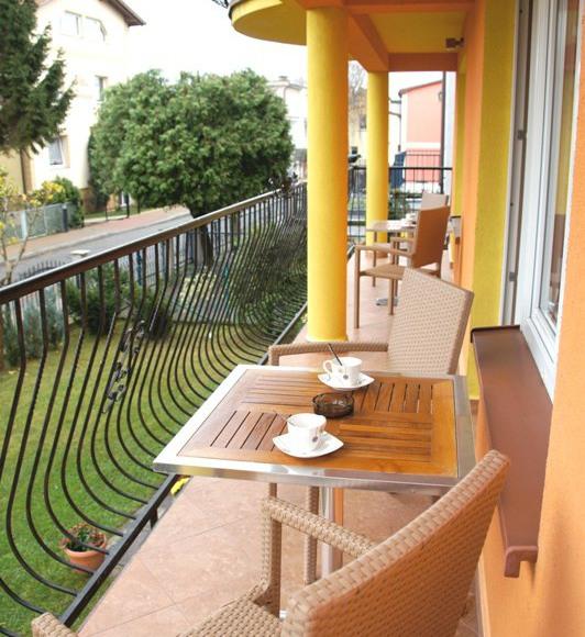 balkon apartamentu