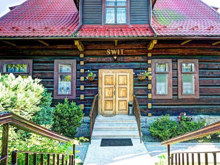 Willa Świt wejście