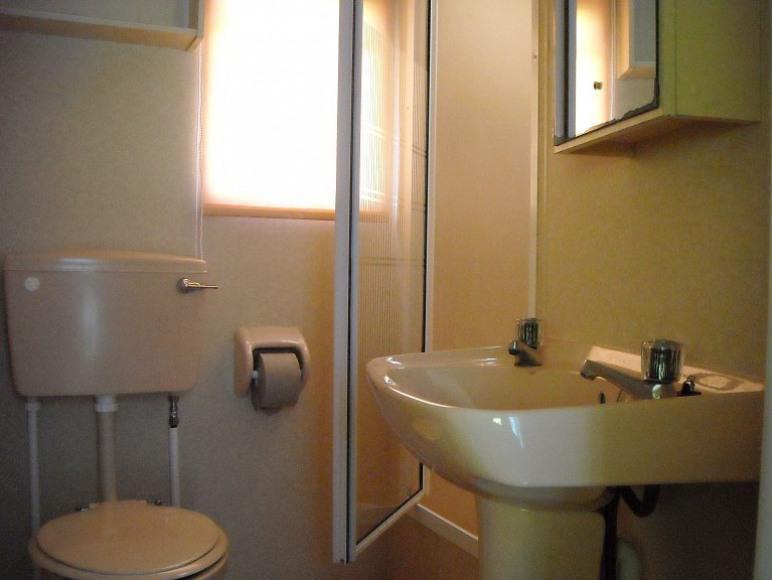 domek- łazienka