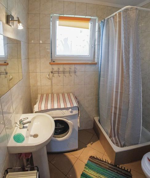 Łazienka w apartamentach.