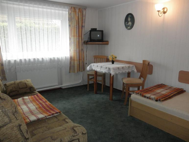 Pokoje gościnne Irena - wolny od 31.07 do 02.08