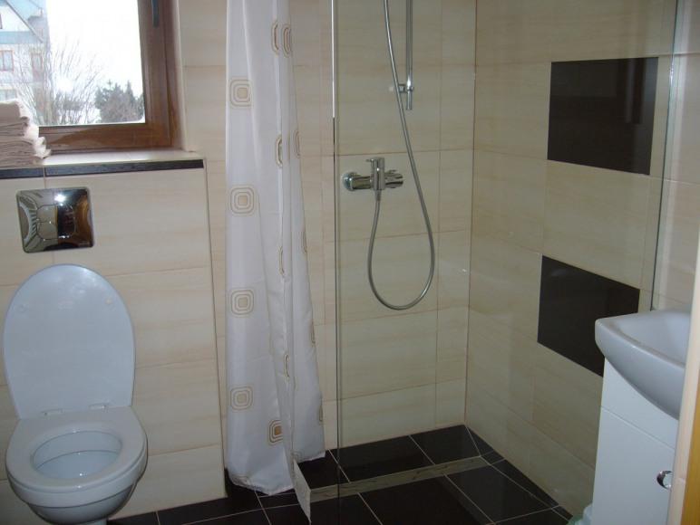 łazienka w nowym domu