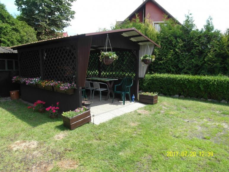 Altana dla gości - mieszkanie turkusowe