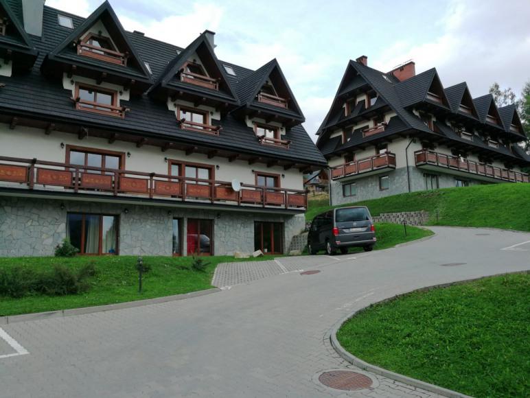 Kompleks apartamentów ze strefą SPA