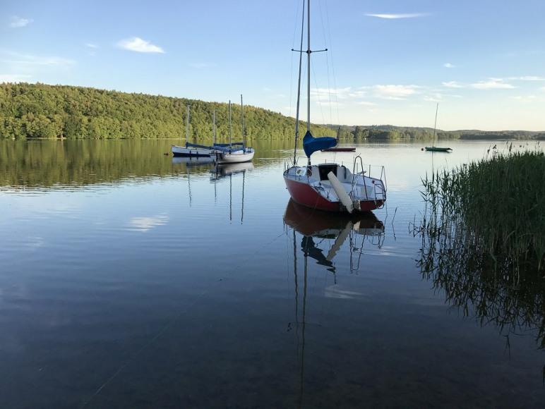 DOM AGA domek nad morzem nad jeziorem