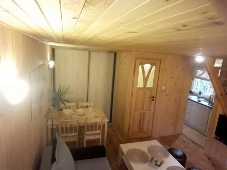 salon dolny w domku