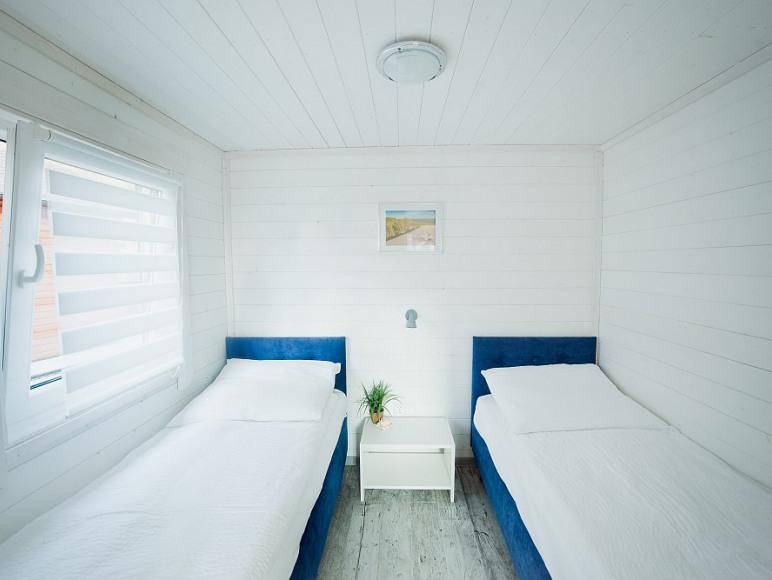 Zdjęcie naszej sypialni umiejscowionej na dole