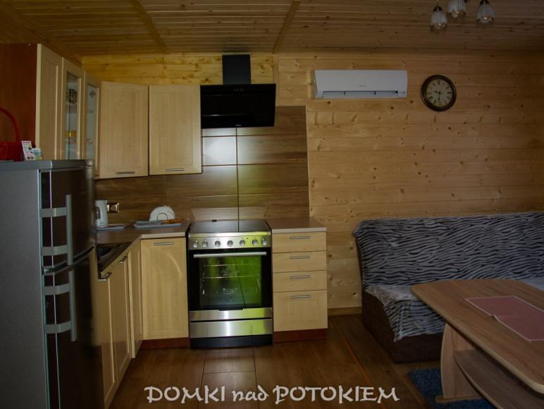 Domek drewniany trzypokojowy