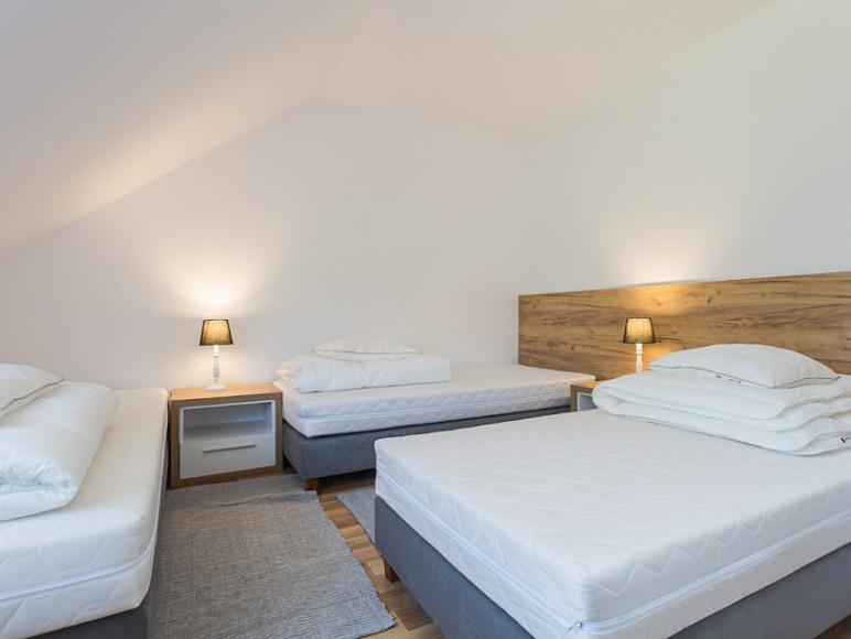 Apartament sypialnia 3 osobowa