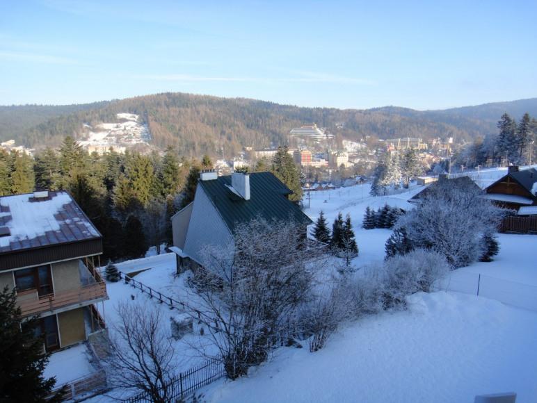 Widok z okna na góry