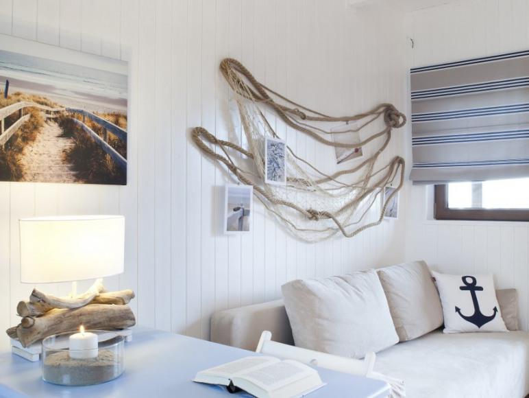 Domek na Plaży - salon