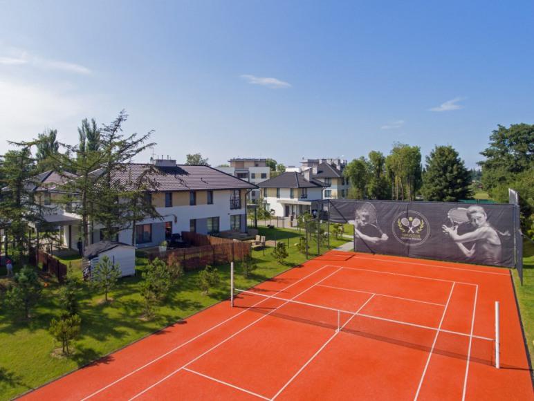 Apartament Laguna - kort tenisowy