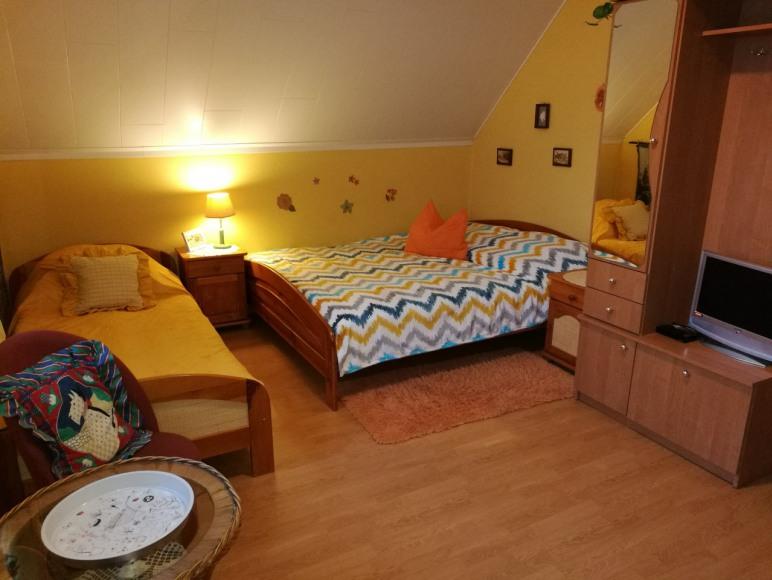 pokój nr 1 Siwka i Kasztanki