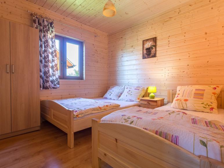 sypialni w domku komfortowym