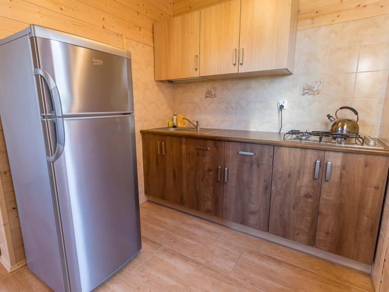 kuchnia w domku komfortowym