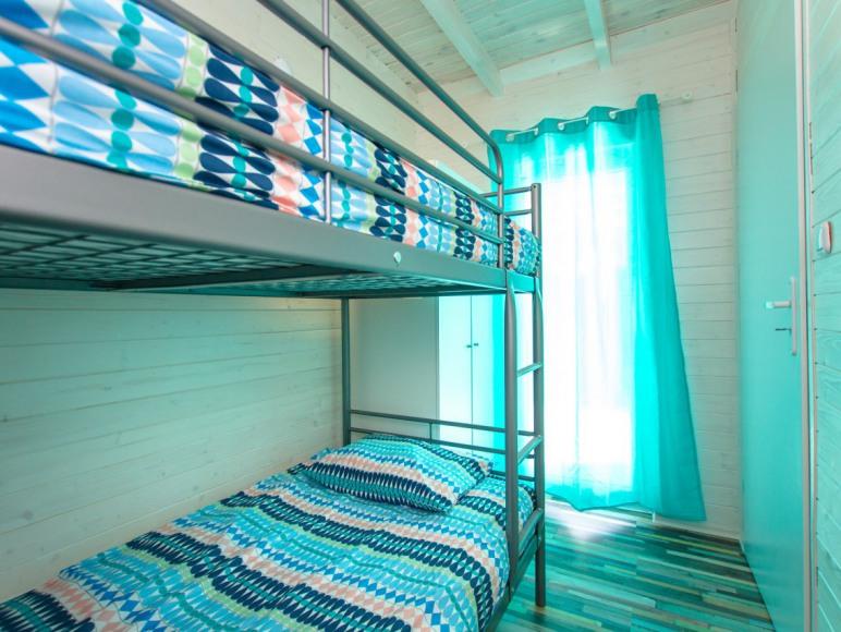 Łóżko piętrowe dla najmłodszych