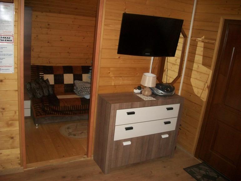 Domek drewniany dwupokojowy