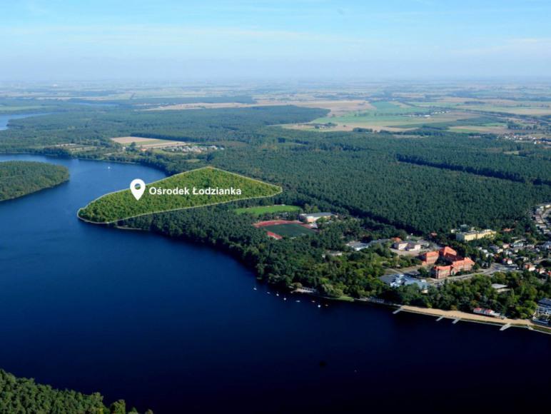 Ośrodek Łodzianka 50 nad jeziorem Durowskim