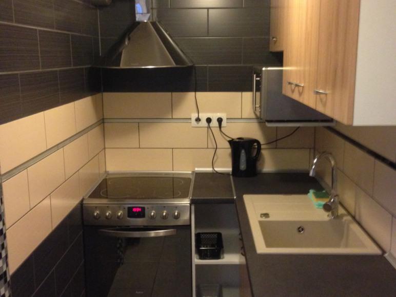 kuchnia w pokoju LUX