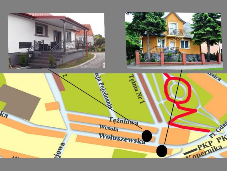 mapa lokalizacja obiektów